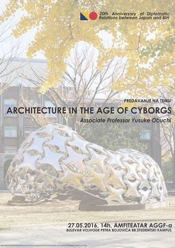 "Yusuke Obuchi - ""Architecture in the Age of Cyborgs"""