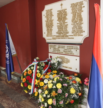 Tribute Paid to Fallen Students and Employees of the University