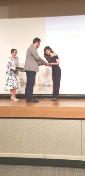 Specialized Conference in Japan: Assistant Professor Bojana Grujic, PhD, Awarded with Golden Plaque